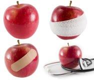 день яблока Стоковые Изображения RF