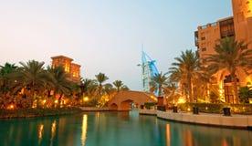 день burj al арабский стоковые изображения rf