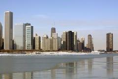 день chicago Стоковая Фотография RF