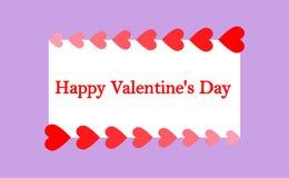 """День Greeting_card_ """"счастливый Валентайн """" иллюстрация вектора"""