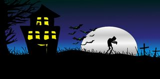 день halloween счастливый Стоковое фото RF