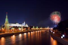 день moscow города Стоковая Фотография