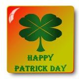 День Patricks, иллюстрация Стоковые Изображения RF
