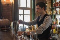 День ` s бармена Стоковые Фотографии RF