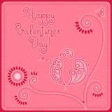 День ` s валентинки открытки Стоковые Фотографии RF
