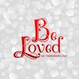 День ` s валентинки открытки Стоковая Фотография RF
