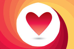 День ` s валентинки сердца Стоковые Изображения RF