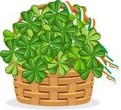 День ` s St. Patrick плаката Стоковые Изображения RF