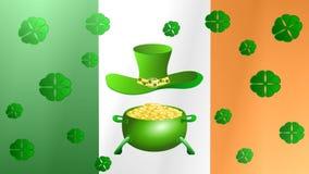 День St. Patrick, анимация сток-видео