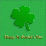 День St. Patrick открытки Стоковая Фотография