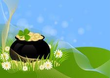 День St. Patricks поздравительной открытки Стоковое Фото