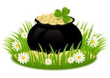 День St. Patricks поздравительной открытки Стоковая Фотография RF