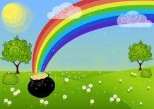 День St. Patricks поздравительной открытки Стоковые Фотографии RF