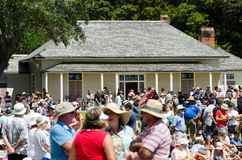 День Waitangi и празднество - праздничный день 2013 Новой Зеландии стоковые фото