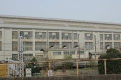 депо поезда на Omiya Стоковое Изображение