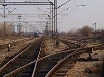 Депо поезда Стоковое Изображение
