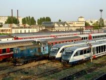 Депо поезда Grivita Стоковое Изображение RF