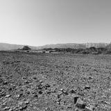 Депрессия и пустота в черно-белом стоковое фото rf