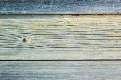 Деревенская винтажная деревянная доска стены с увяданной краской Стоковое Изображение