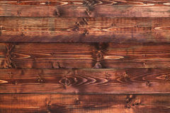Деревенская коричневая красная деревянная предпосылка Стоковая Фотография