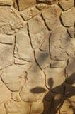 Деревенская предпосылка каменной стены стоковые фотографии rf
