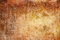 Деревенская предпосылка, ржавая текстура, металл Grunge Стоковое Изображение RF