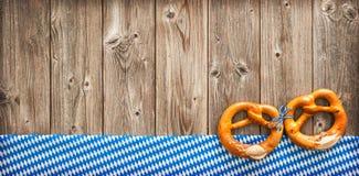Деревенская предпосылка для Oktoberfest Стоковое фото RF