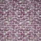Деревенская розовая кирпичная стена Стоковое Изображение