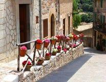 Деревенская среднеземноморская деревня, Испания стоковая фотография rf