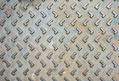 Деревенская текстура крышки люка grunge Стоковое Изображение RF