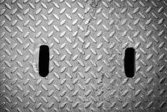 Деревенская текстура крышки люка grunge Стоковые Изображения RF