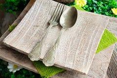 Деревенская установка таблицы Стоковые Фотографии RF