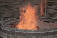 Деревенская хлебная печь Национальные традиции Стоковые Изображения RF