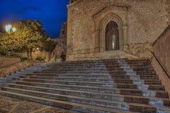 Деревенская церковь в Custonaci стоковые фото