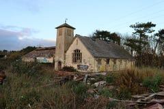Деревенская церковь мальчиков Стоковое Фото