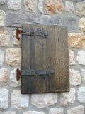Деревенская штарка окна Стоковое Фото