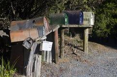 Деревенские почтовые ящики Стоковая Фотография