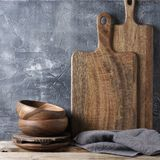 Деревенские утвари кухни стоковые фото