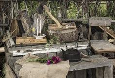 Деревенские эскизы Стоковая Фотография RF
