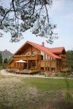 деревенский дом большой Стоковое фото RF