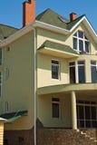 деревенский дом конструкции Стоковое фото RF