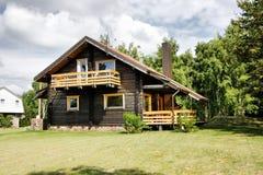 деревенский дом коттеджа Стоковое фото RF