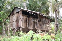 деревенский дом Малайзия Стоковая Фотография RF