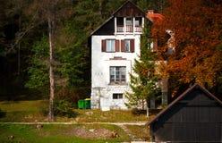 деревенский дом малый стоковая фотография