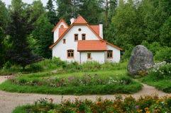 деревенский дом старый Стоковое Изображение RF