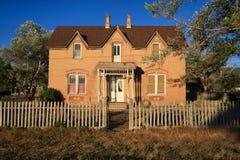 деревенский дом старый Стоковая Фотография