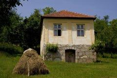 деревенский дом старый Стоковая Фотография RF