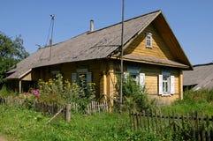 деревенский дом Стоковые Изображения RF