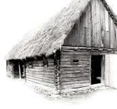деревенский дом Стоковые Изображения