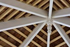 Деревенский деревянный потолок Стоковое Изображение RF